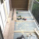 Balkonvloer steigerhout Bouwbedrijf Amsterdam Pattitechniek