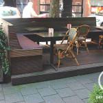 Buiten terras restaurant Mamouche Bouwbedrijf Amsterdam Pattitechniek 9
