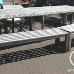 Terras meubel hout en staal cafe vrienden amsterdam bouwbedrijf Pattitechniek 10