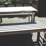 Terras meubel hout en staal cafe vrienden amsterdam bouwbedrijf Pattitechniek 6
