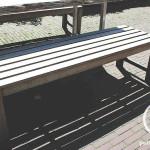 Terras meubel hout en staal cafe vrienden amsterdam bouwbedrijf Pattitechniek 8
