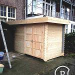 Tuinhuis hout 2 Bouwbedrijf Amsterdam Pattitechniek