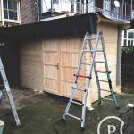 Tuinhuis hout Bouwbedrijf Amsterdam Pattitechniek